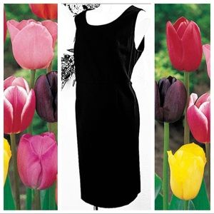 Jessica London Sleeveless Black Dress